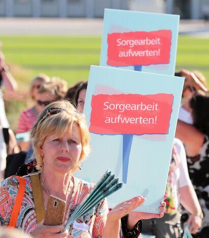 Sorgearbeit aufwerten (Foto: Susanne Hübner, BAB)