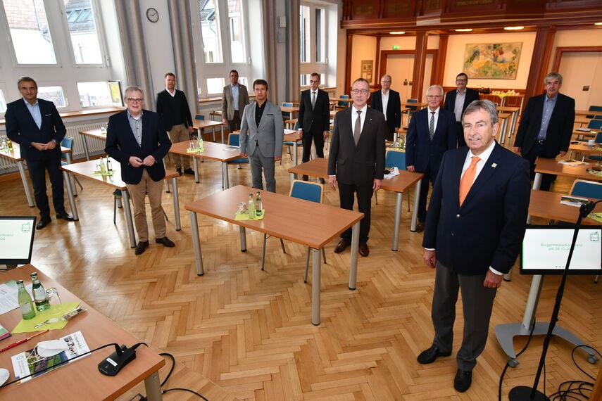 Bürgermeister Städte und Landrat Kreis Höxter