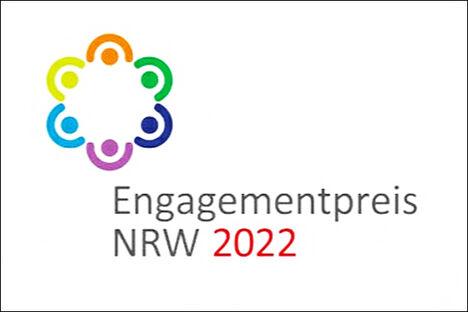 Logo Engagementpreis NRW 2022