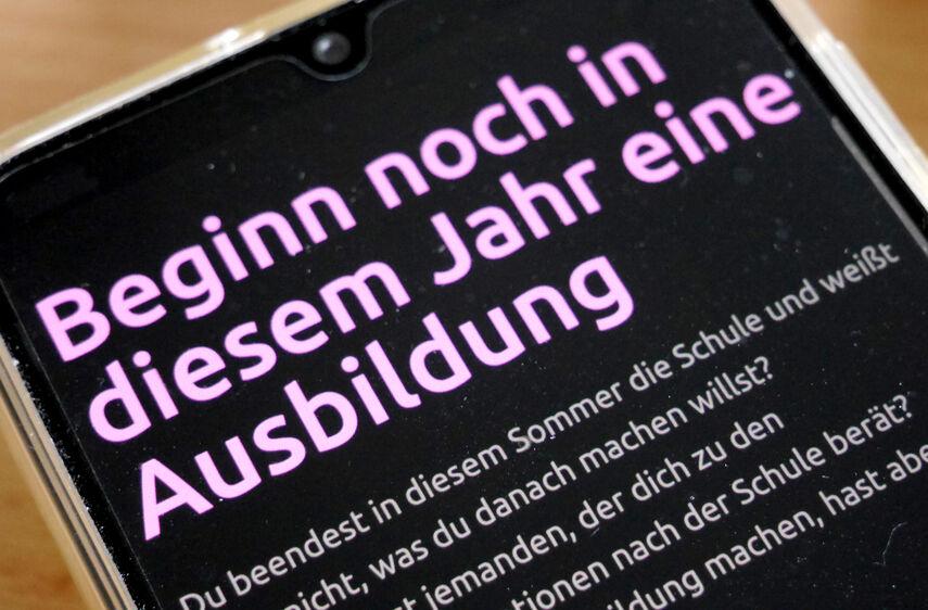 Ausbildung_Smartphone